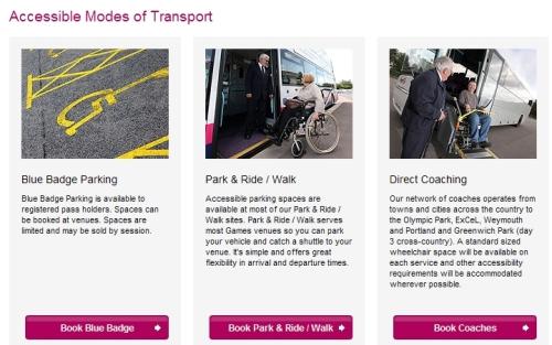 휠체어 이용자를 위한 교통 수단 예약 서비스 화면